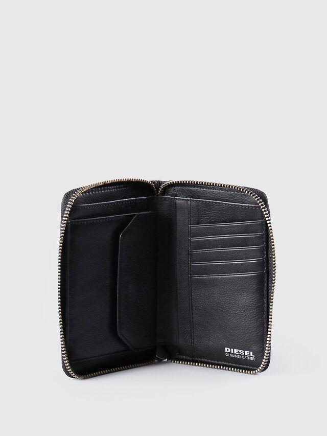 Diesel - JADDAA, Black Leather - Small Wallets - Image 4