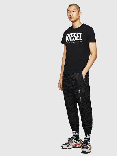 Diesel - T-DIEGO-LOGO, Black - T-Shirts - Image 7