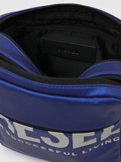 Diesel - F-BOLD DOUBLECROSS I, Blue - Crossbody Bags - Image 4