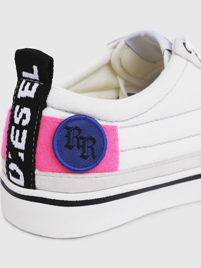 Diesel - D-VELOWS LOW PATCH W, White - Sneakers - Image 5