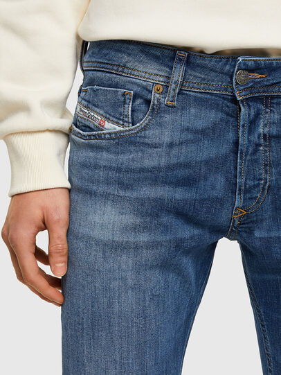 Diesel - Sleenker 009PK, Medium blue - Jeans - Image 4