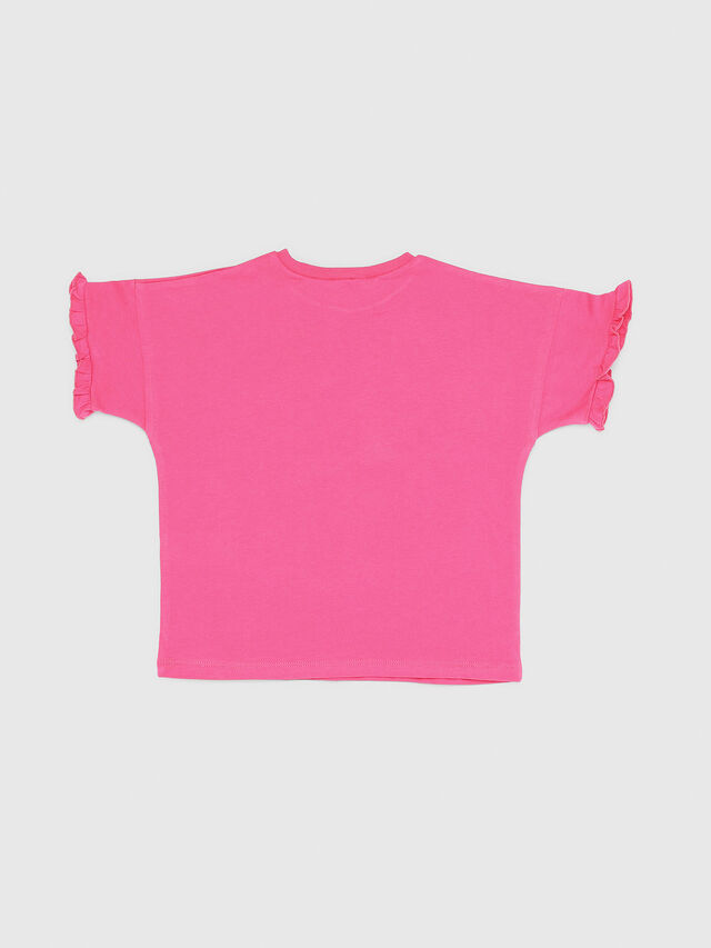 Diesel - TUINAB-R, Pink - T-shirts and Tops - Image 2