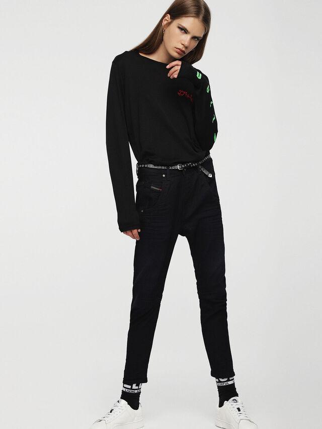Diesel Fayza JoggJeans 0829P, Dark Blue - Jeans - Image 4