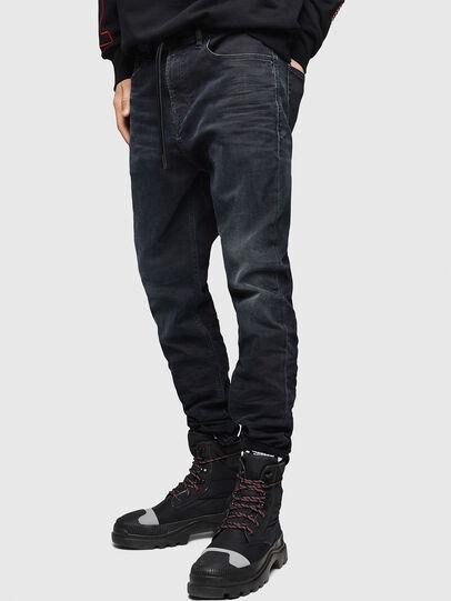 Diesel - D-Vider JoggJeans 069GE, Black/Dark grey - Jeans - Image 4
