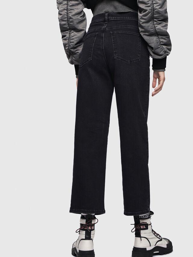 Diesel Widee 084HQ, Black/Dark grey - Jeans - Image 2