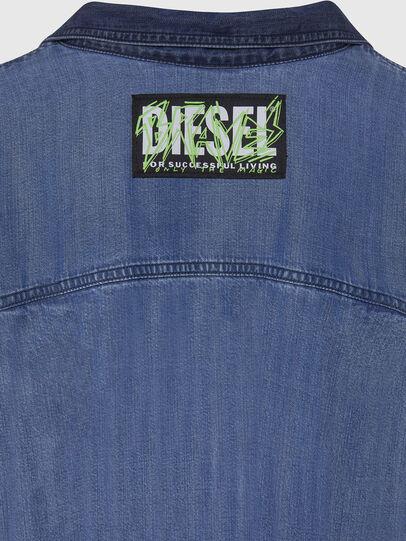 Diesel - DE-NILLA, Light Blue - Denim Shirts - Image 4