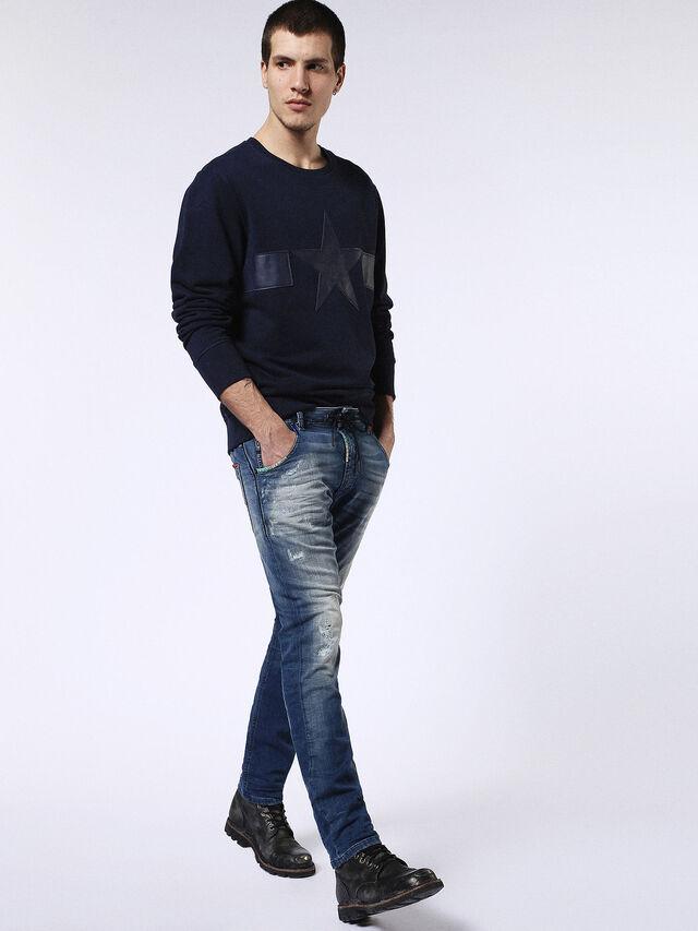 Diesel Krooley JoggJeans 0680Y, Medium blue - Jeans - Image 5
