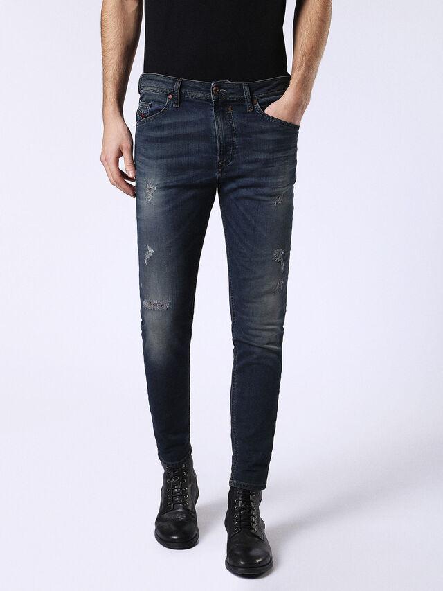 Diesel Spender JoggJeans 0678L, Dark Blue - Jeans - Image 1