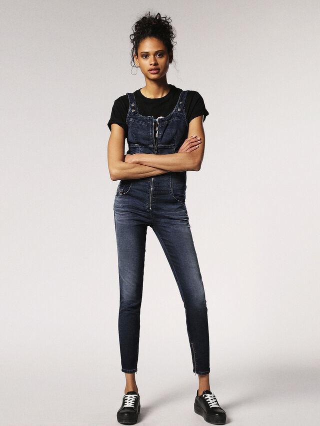 Diesel ZEPPEL JOGGJEANS, Blue Jeans - Jumpsuits - Image 3
