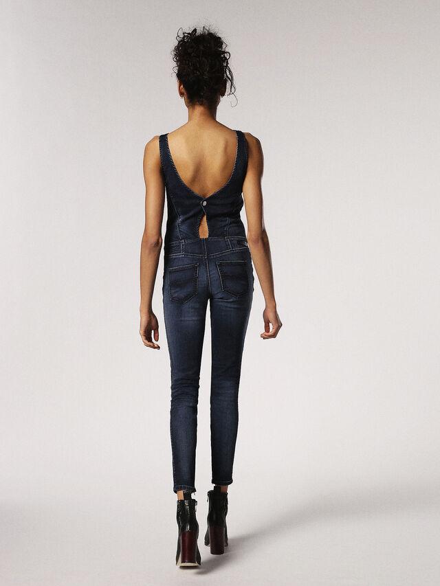 Diesel ZEPPEL JOGGJEANS, Blue Jeans - Jumpsuits - Image 2