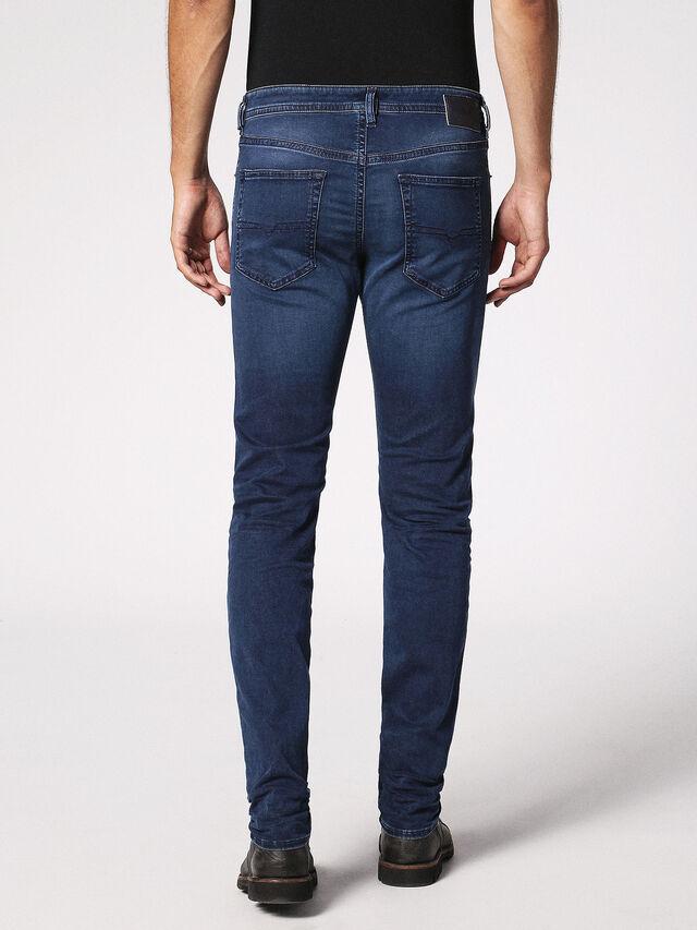 Diesel - Buster 0675L, Dark Blue - Jeans - Image 3