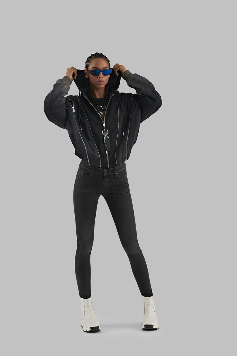 Diesel Super Skinny Jeans Woman