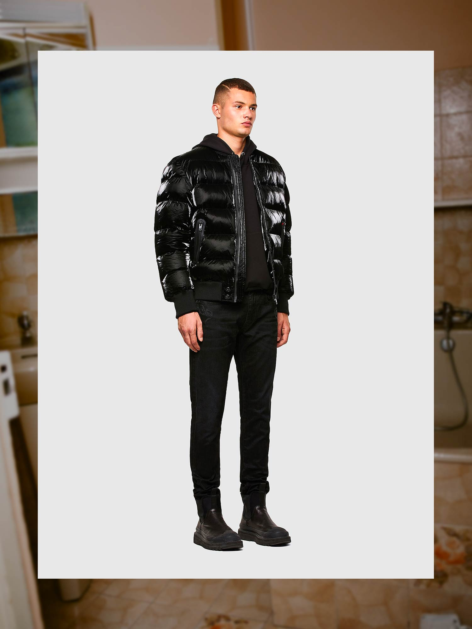 Diesel Jeans Slim Fit: D-Strukt | Shop Now on Diesel.com