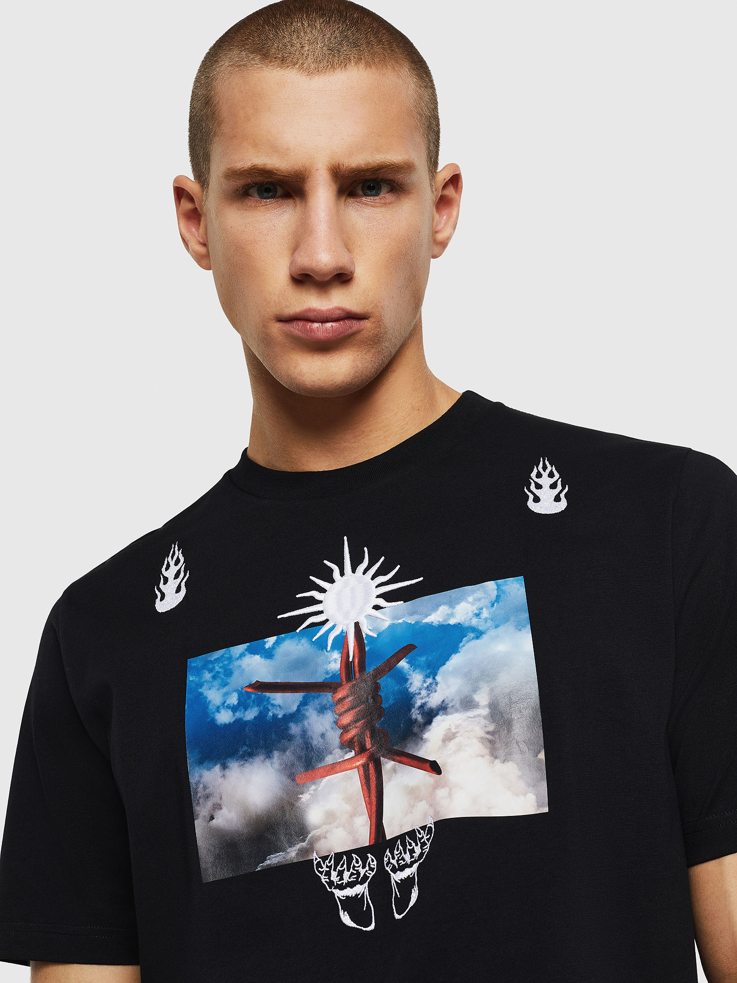 Diesel - T-JUST-B28,  - T-Shirts - Image 4